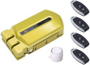 Cerradura invisible Golden Shield Alarma 120db
