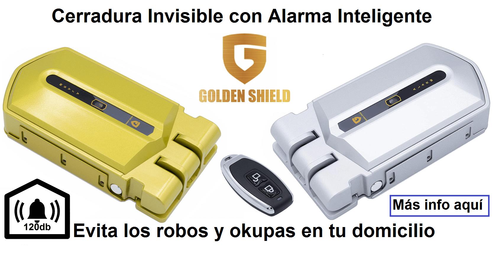 Golden shield alarm