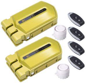 controla 2 cerraduras invisibles con un mismo mando