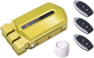 Cerradura invisible alarma 120db