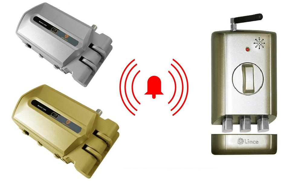 cerraduras invisibles con alarma