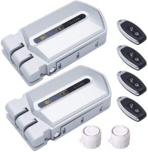 controla dos cerraduras invisibles con un mismo mando