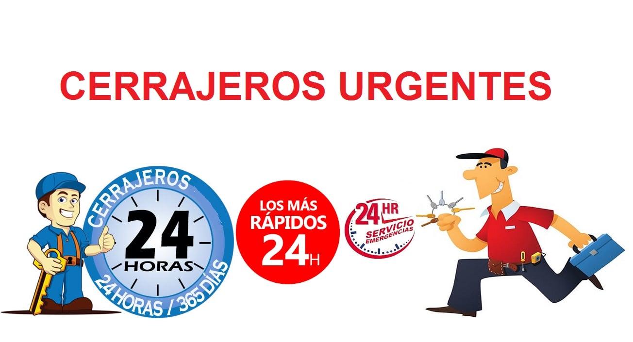 cerrajeros urgentes, 24h...